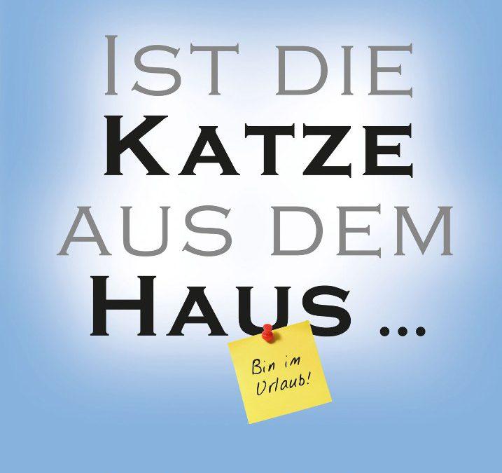 """Buch-Tipp: """"Ist die Katze aus dem Haus…"""" von Bernd Geropp"""