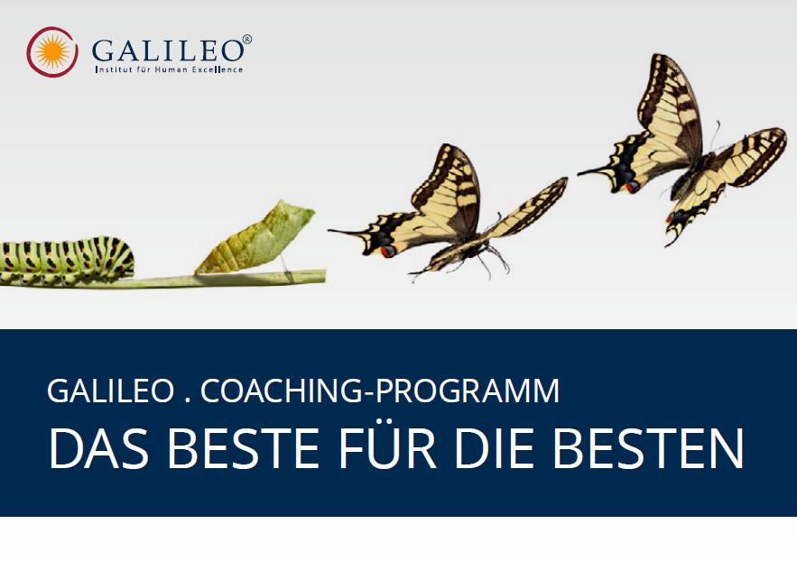 Das Galileo . Coaching Programm für Führungskräfte startet – Seien Sie dabei!