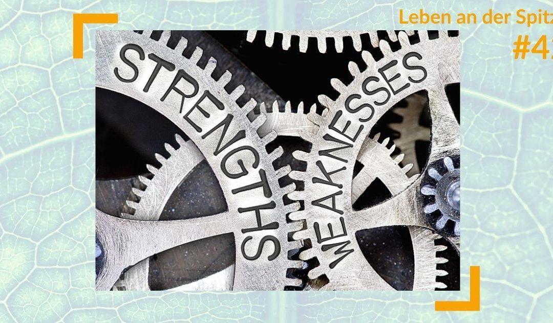 Keine Schwäche zeigen: Dürfen Führungskräfte Schwäche zeigen? | RAUS AUS DEM HAMSTERRAD #42
