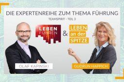 Teamspirit: Wie Sie gute Führung in Ihrer Organisation etablieren - mit Olaf Kapinski | RAUS AUS DEM HAMSTERRAD #45