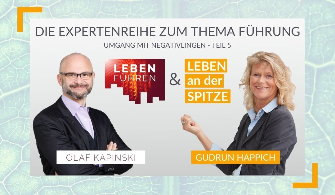 Wie Sie ein Kritikgespräch mit einem Negativling führen – ein Gespräch mit Olaf Kapinski (5/5) | RAUS AUS DEM HAMSTERRAD #80