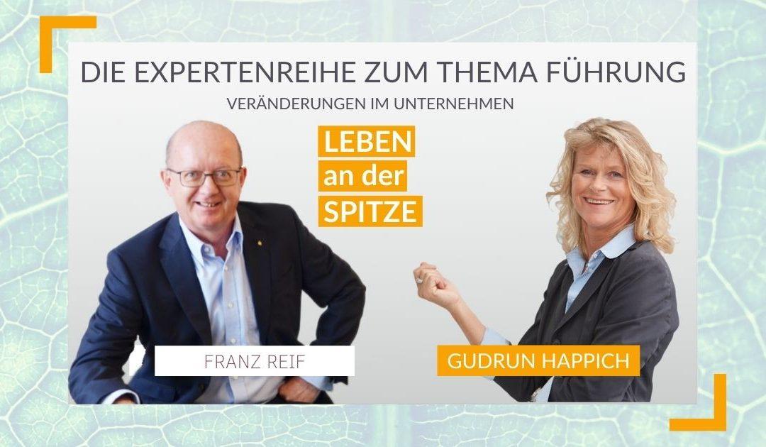 Wie gelingt die Umsetzung von Veränderungen im Unternehmen konkret? – Interview mit Franz Reif – Vorstand (2/3) |  NEU ALS CHEF #82