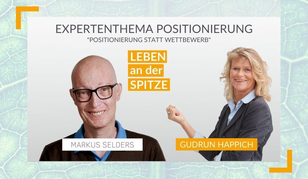 Wie Unternehmer ihren Führungskräften bei der Positionierung helfen können (2/2) – im Gespräch mit Dr. Markus Selders | KARRIERE MACHEN #86